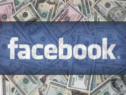 Price of the Facebook stock