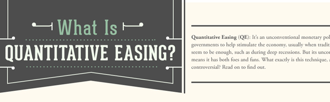 Quantitative Easing Explained – Midweek Infographic