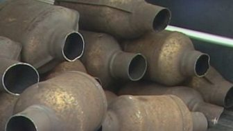 stolen catalytic converters