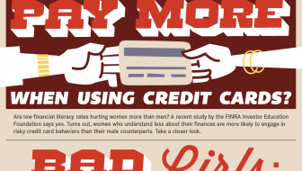 Do Women Pay More When Using Credit Cards? [Infographic]