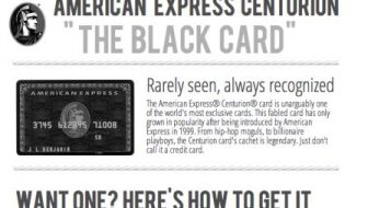 """The Black Card"" – The Card Every Billionaire Has In Their Wallet [Infographic]"