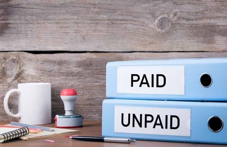 how to pay business debts when you aren't getting paid