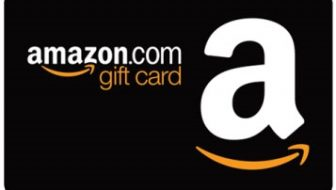 Drawing for a $100 gift card for Amazon.