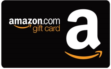 A $100 gift card for Amazon is one o the 50 prizes in our drawing.