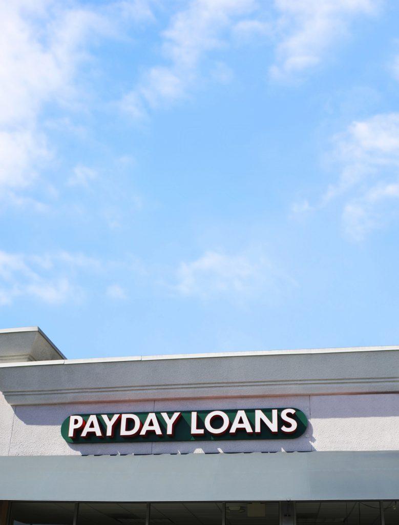 Payday loan lenders